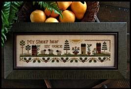 My Sheep LHN119 cross stitch chart Little House Needleworks - $8.10