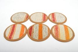kilim coasters,Coaster 4,5'', handmade coaster,wool coasters, homedecor coaster - $29.00