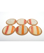 kilim coasters,Coaster 4,5'', handmade coaster,wool coasters, homedecor ... - $29.00