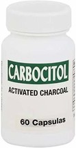 Carbocitol Activated Charcoal 60 Tablets - $12.86