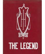 School Yearbook -- THE LEGEND, Indian Hill High School, Ohio -- 1960 Edi... - $22.50