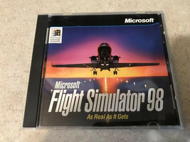 Microsoft Flight Simulator 2002 - As Real As It Gets (PC Windows 98/2000... - $6.44