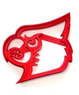 University of Louisville Cardinal Head Face Cookie Cutter Made in USA PR4154 - $2.99