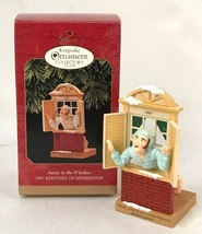 "Hallmark Keepsake ""Away To The Window"" 1997 Collector's Club Ornament  - $6.88"