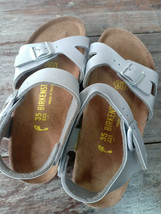 Used Birkenstock Bali Angle Strap Women Summer Sandals Size 35 L4 Excell... - $34.60