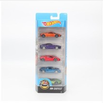 "Original 5pcs/box Hotwheels ""HW EXOTICS"" Mini Car Collection Model Toys ... - $19.99"
