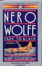 Fade to Black [Audio Cassette] Goldsborough, Robert