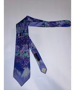 Vintage Versace Tie 90s 80s Popart Peter Max Style - $98.98