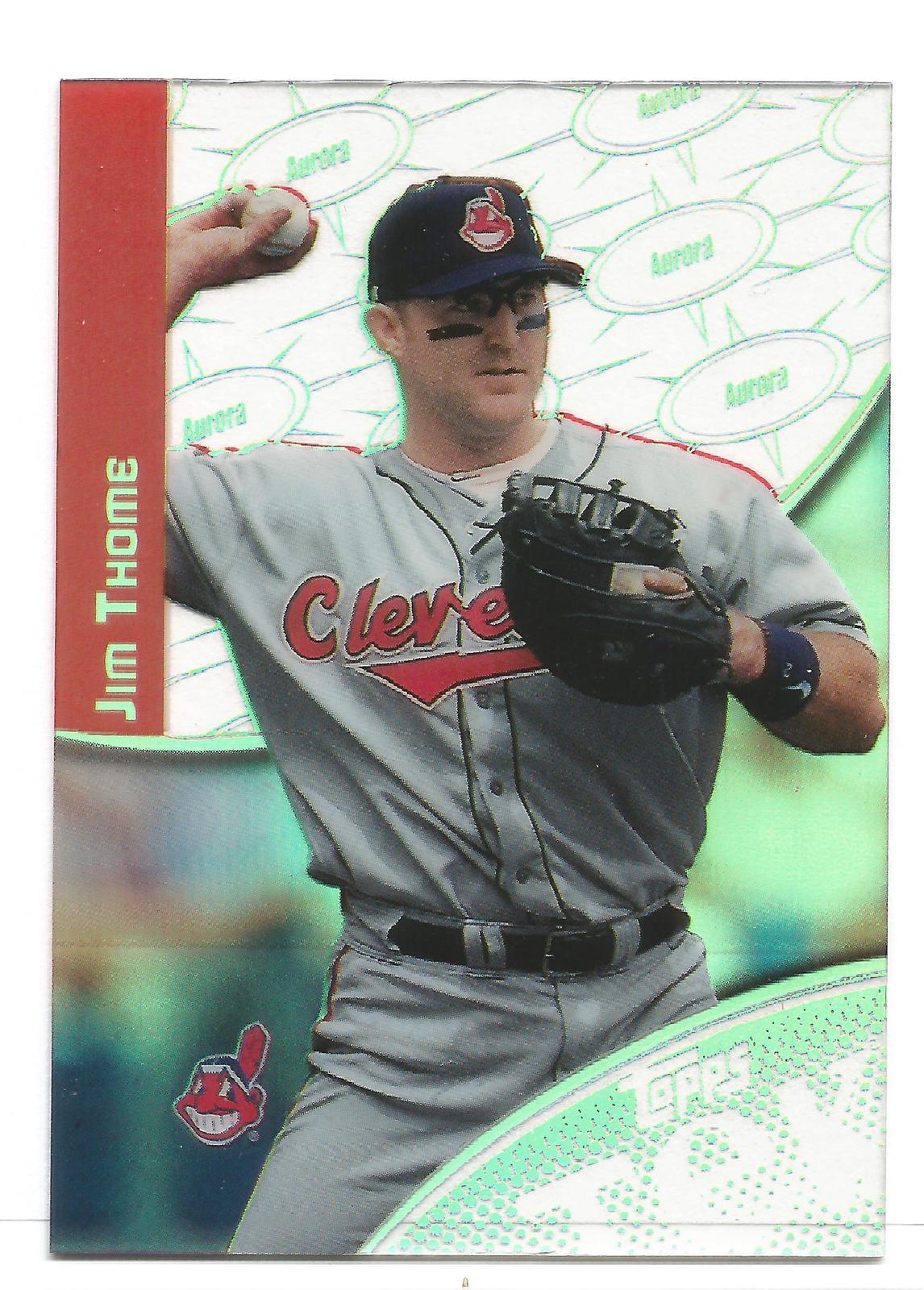 Jim Thome 2000 Topps TEK Card #7-7 Cleveland Indians Free Shipping