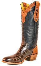 Handmade leather Men's custom cowboy boots leather handmade cowboy boots  - $259.99 - $329.99
