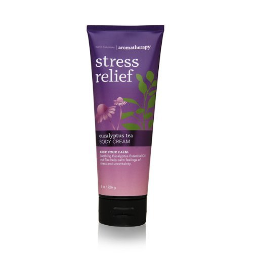 Bath & Body Works Stress Relief EUCALYPTUS TEA Body Cream