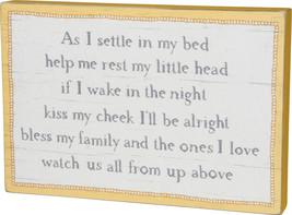 PBK Children Decor -  Say Your Prayers Box Wood Sign - $29.65