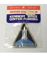 Vintage Kennedy Space Center Shuttle Astronaut Triangle Iron On Patch Em... - $7.83