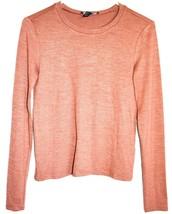 Forever 21 Burnt Umber Orange/Brown Fall Glimmer Long Sleeve Shirt Size S