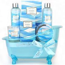 Bath Gift Set for Women, Ocean Scent Body & Earth Home Spa Kit , 7 Pcs H... - £36.15 GBP