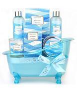 Bath Gift Set for Women, Ocean Scent Body & Earth Home Spa Kit , 7 Pcs H... - $50.00