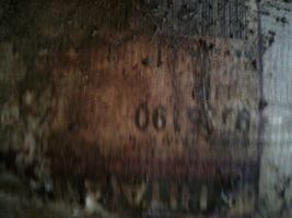 9735190 | Hitachi Ex100/Ex120 Bucket Link L/H (w/ bolt hole), New dirty see pics image 7