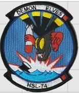 Official US Navy HSL-74 Demon Elves Squadron Patch - $11.87