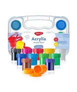 Daco Acrylic Paints Acrylia, Kids Art Set Includes 12 Colors 0.7 fl.oz (... - $23.90