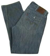 Levi's 514 Slim Fit Straight Leg Red Tab Jeans Men's W38 X L32 Cotton Blend - $28.68