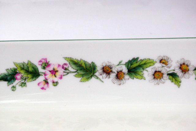 """Royal Worcester 2007 Worcester Herbs Sage 11"""" Baker Botanical Line image 5"""
