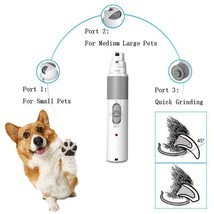 Electric Nail Grinder Usb Charge Clippers Grooming Pet Tools New For Dog... - $39.11