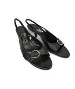 Salvatore Ferragamo Womens Slingback Low heel Size 8.5 AA - $40.82