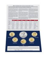 2013 W US Mint Set Unc Silver Dollar & Native American Golden + 4 Presid... - $49.95