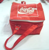 Vintage COCA COLA German 70/80s Personal 6-Pak Soft Cooler Tote Lunch Ba... - $24.99
