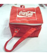 Vintage COCA COLA German 70/80s Personal 6-Pak Soft Cooler Tote Lunch Ba... - $24.99
