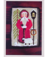 Santa Tending The Sheep cross stitch chart By The Bay Needlearts  - $9.00
