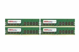 MemoryMasters 32GB (4x8GB) DDR4-2400MHz PC4-19200 ECC UDIMM 2Rx8 1.2V Unbuffered - $148.49
