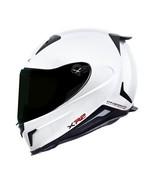 NEXX X.R2 PLAIN MOTORCYCLE HELMET - White - XLarge - $399.95