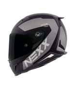 NEXX X.R2 TRION MOTORCYCLE HELMET - Black/Grey - 2XLarge - $449.95
