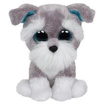 "Pyoopeo Ty Boos 6"" 15cm Whiskers the Grey Schnauzer Plush Regular Stuffed Animal - $9.69"