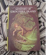 Nancy Drew #55 Mystery of Crocodile Island 1st printing - $22.00