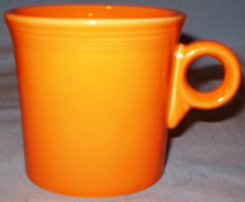 Hlc fiesta ring handle mug persimmon