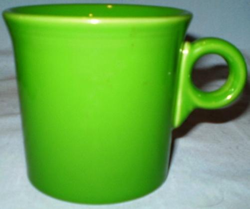 Hlc fiesta ring handle mug shamrock