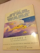 THE ART OF STAR WARS EPISODE I THE PHANTOM MENACE BOOK (1999) - $7.85