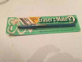 Vintage 1981 Gillette Papermate Eraser Mate 2 Erasable Ink Pen sealed - $19.79