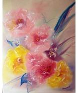 Original 8x10 Floral Canvas Wall Art 07 -: rdoward fine art - $19.00