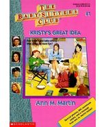 THE BABY SITTERS CLUB KRISTY'S GREAT IDEA ANN M. MARTIN SCHOLASTIC PAPER... - $4.25
