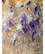 Original 8x10 Floral Canvas Wall Art 010 -: rdoward fine art - $19.00