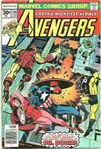 Avengers #156 comics Buscema/Marcos DR. DOOM 1st print & series 1976 Kir... - $24.75