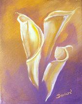 Original 8x10 Floral Canvas Wall Art 012 -: rdo... - $19.00