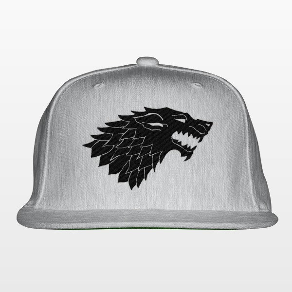 Used, Game Of Thrones Wolf Snapback Hat for sale  USA
