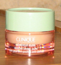 Clinique All About Eyes Reduces Circles, Puffs .21 oz / 7 ml. NEW - $6.92