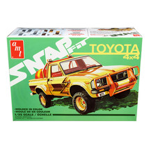 Skill 1 Snap Model Kit Toyota Hilux 4x4 Pickup Truck 1/25 Scale Model by... - $36.99