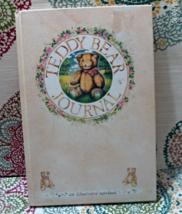Vintage Teddy Bear Journal - An Illustrated Notebook  - $5.50
