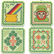 St. Patrick's Day 7 cent Holiday Stamps cross s... - $5.00